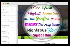 723+ Google Fonts