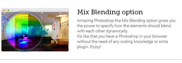 Mix Blending option