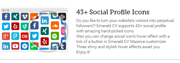 43+ Social Profile Icons