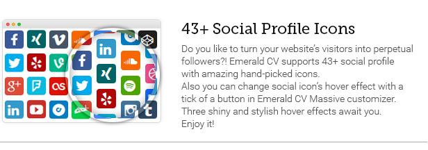 43+ Social Profile Icons